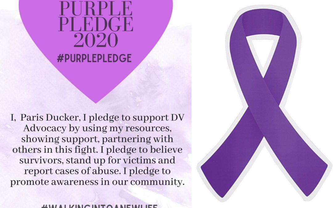 Purple Pledge: Paris Ducker