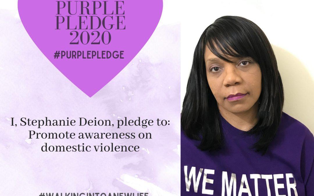 Purple Pledge: Stephanie Deion