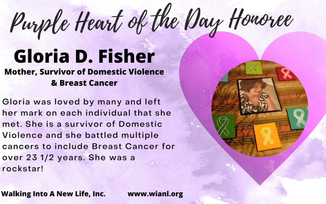 Purple Heart of the Day: Gloria D. Fisher