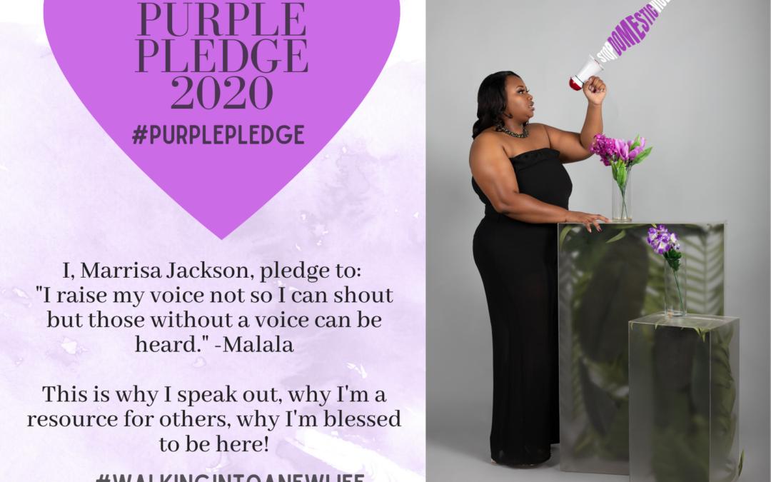 Purple Pledge: Marrisa Jackson